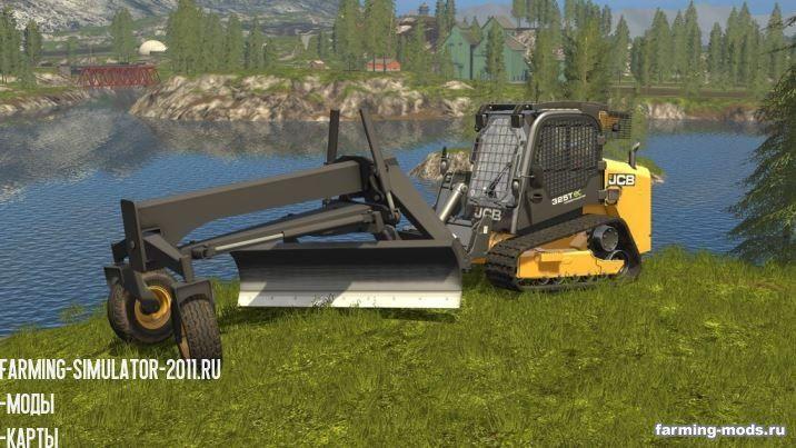 С/Х инвентарь для игры мод Мод BBM Grader Blade v 1.0 для Farming Simulator 2017