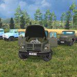 Мод-пак грузовиков ЗиЛ (130, 131, 133, 45046) для Farming Simulator 2015