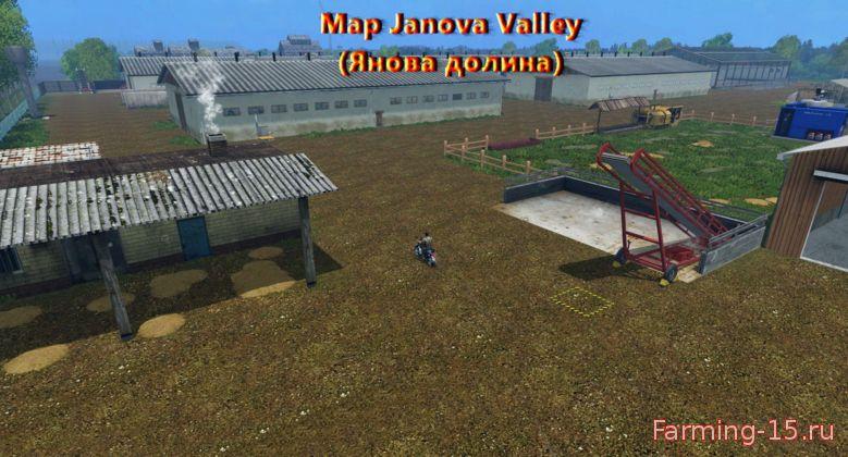 Русские карты для Русская карта Янова долина для Farming Simulator 2015