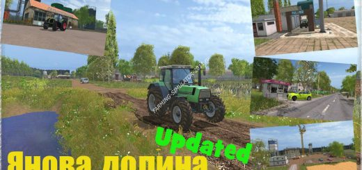 Карты для игры мод Карта Янова долина Хардкор v 2.4.3 для Farming Simulator 2017