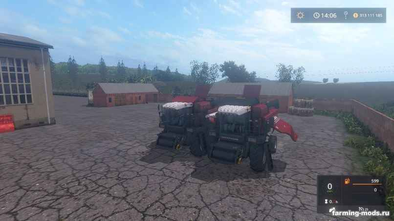 "Комбайны для игры мод Мод ""Комбайн Палессе ГС-12 v 1.0 by demoon"" для Farming Simulator 2017"