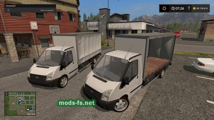 Грузовики для игры мод Мод на фургон «Jollydodgers Ford Boxvan» для Farming Simulator 2017