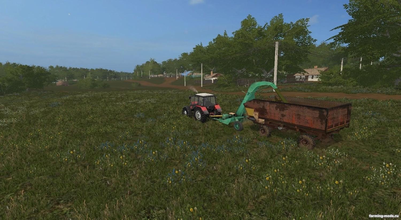 Прицепы для игры мод Прицеп КТУ-10 v 2.0 для Farming Simulator 2017