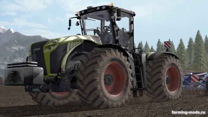 "Тракторы для игры мод Мод ""Трактор Claas Xerion v 1.0"" для Farming Simulator 2017"