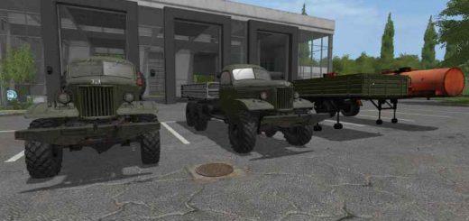 Русская техника для игры мод Мод пак Зил-157КД v 1.0 для Farming Simulator 2017