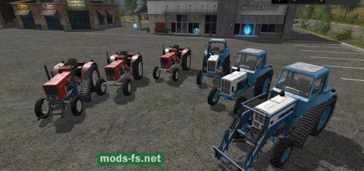 Русская техника для игры мод Мод Трактора MTZ 80, 82, 510 и 512 (v1.3) для Farming Simulator 2017