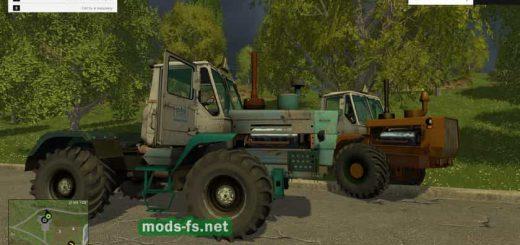 Русская техника для Мод Пак из двух тракторов Т-150к для Farming Simulator 2015