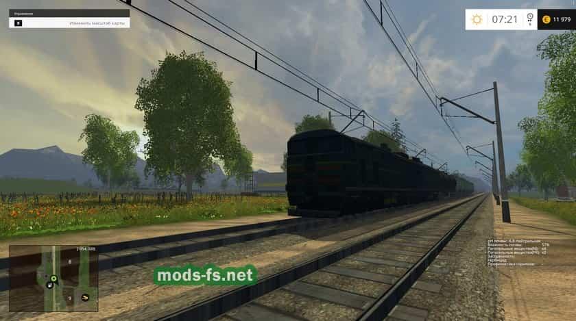 Русские карты для Карта «Где-то там, далеко» для Farming Simulator 2015