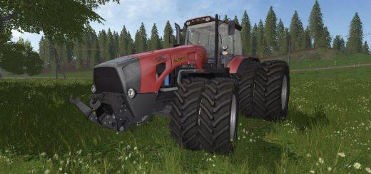 Русская техника для игры мод Трактор Беларус МТЗ- 4522 v 1.0 для Farming Simulator 2017