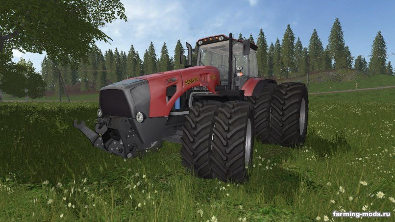 Русская техника для игры мод Трактор Беларус МТЗ- 4522 v 1.0 для Farming Simulator 2017