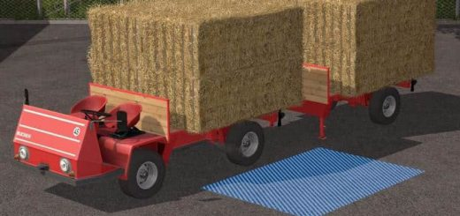 "Другие моды для игры мод Мод ""Bucher TRL2600 Platform Pack v 1.0.0.3"" для Farming Simulator 2017"