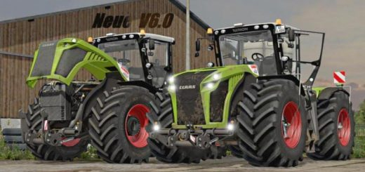 "Тракторы для игры мод Мод Трактор ""Claas Xerion 5000 DH v 6.0 Final"" для Farming Simulator 2017"