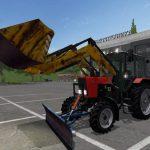 Беларус МТЗ и оборудования (v0.2 NezuZ) для Farming Simulator 2017