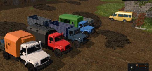 Русская техника для игры мод Мод ГАЗ-3308 Садко v 2.0 для Farming Simulator 2017
