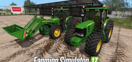 Тракторы для игры мод Мод John Deere 7430/7530 v 4.1 для Farming Simulator 2017