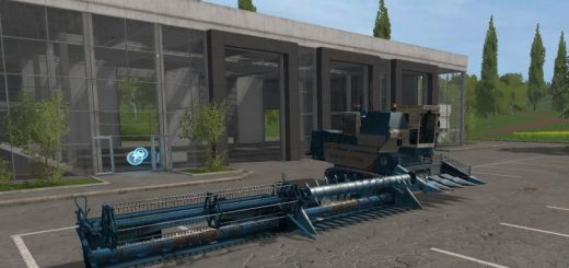 Русская техника для игры мод Мод Комбайн Енисей 1200 РМ v 2.1 для Farming Simulator 2017