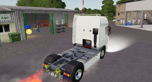 Мод на тягач DAF XF 105 4X2 для Farming Simulator 2019