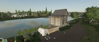 Мод на карту Green Valley Pack Fix2 (Зеленая долина) для игры Farming Simulator 2019