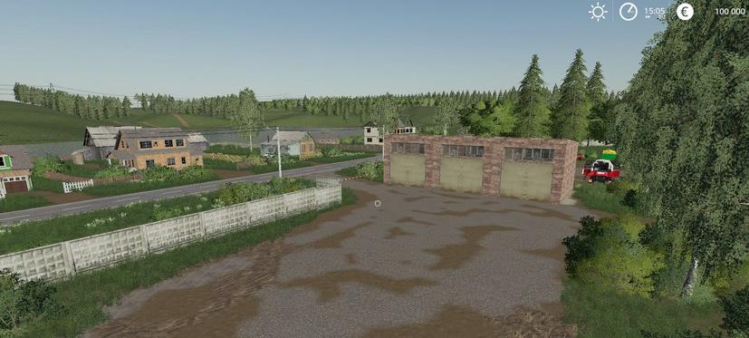 Скачать карту «Деревня Бурлаки» v1.0 для Фермер Симулятор 2019