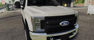 Мод на пикап Ford F-250 для игры Farming Simulator 2019