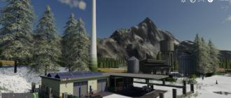 Скачать мод на карту «Belgique Snow» v1 для Farming Simulator 2019