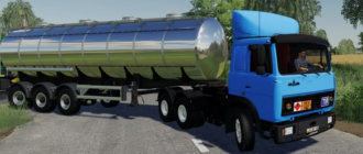Мод на тягач MAZ 6422 EARLY для Фермер Симулятор 2019