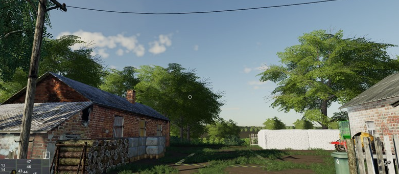 Мод карту «Lipinki» v3 для игры Farming Simulator 2019
