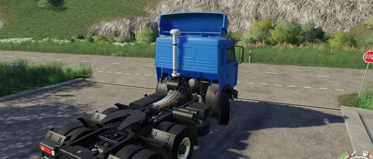 Мод на КамАЗ-54115 для Farming Simulator 2019