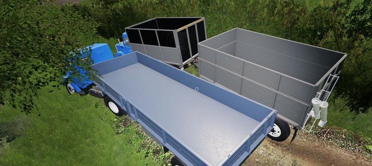Мод на ЗИЛ-45065 и ЗИЛ-4421 + прицеп для игры Фермер Симулятор 2019