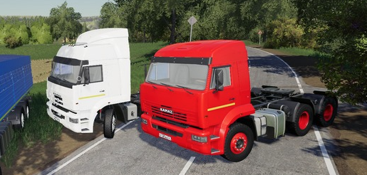 Мод пак КамАЗ MTG для Farming Simulator 2019