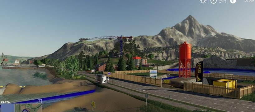 Мод на карту «Fun Map» для игры Farming Simulator 2019