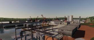 Карта Mining & Construction Economy для игры Фермер Симулятор 19
