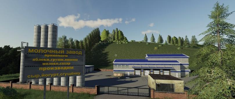 Мод на карту «Коровино» v1.4 для Farming Simulator 2019