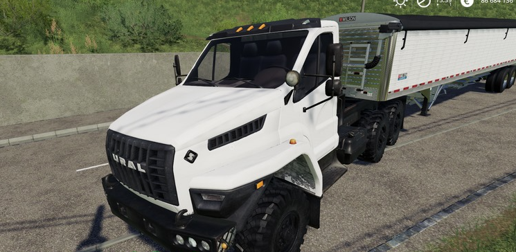 Скачать мод на грузовик УРАЛ NEXT для Farming Simulator 2019