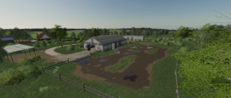 Мод на карту «Rassvet Map» (Рассвет) V1.0 для Farming Simulator 2019