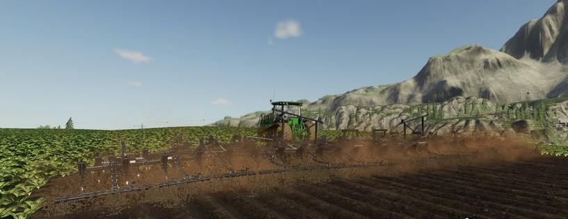 Мод на плуг «Plow ST820» для игры Farming Simulator 2019