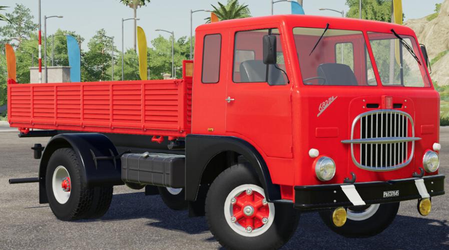 Скачать мод грузовика Fiat 682 N4 для Farming Simulator 19