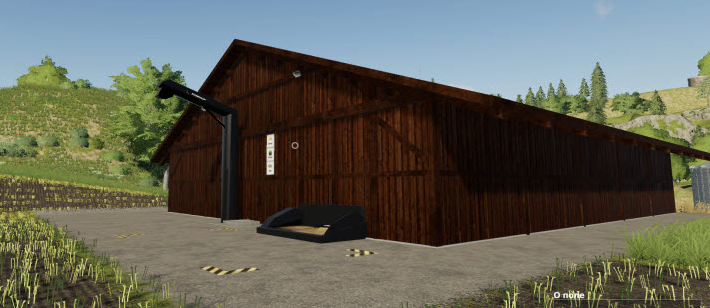 Мод «Straw» на склад для соломы, травы и сена в Farming Simulator 2019