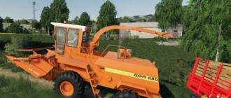 Мод на комбайн Дон 680 для Farming Simulator 2019