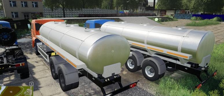 Скачать мод на КамАЗ-65117 «Молоко» для Farming Simulator 2019