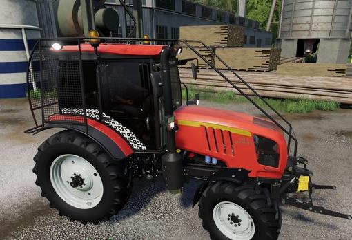 Мод на трактор МТЗ Беларус 1523 для Farming Simulator 2019