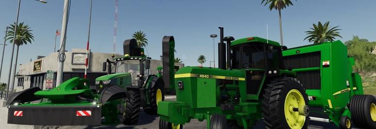 Скачать мод пак «JD Equipment» для Farming Simulator 2019