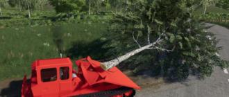 Скачать мод на трактор TDT-55 для Farming Simulator 2019