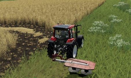 Скачать мод на косилку Agromet Rota для Фермер Симулятор 2019