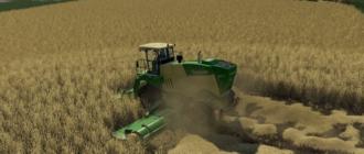 Скачать мод косилки BIG M 450 RS для игры Farming Simulator 19