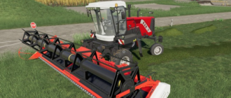 Самоходная косилка Ростсельмаш КСУ для Farming Simulator 2019