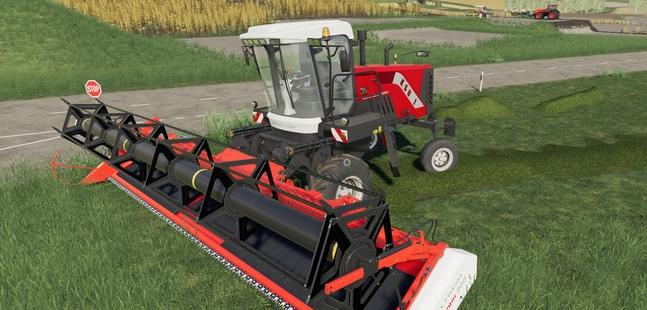 Самоходная косилка Ростсельмаш КСУ для Farming Simulator 2019