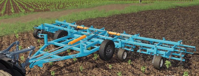Скачать мод на культиватор КБМ-8ПС для Farming Simulator 2019