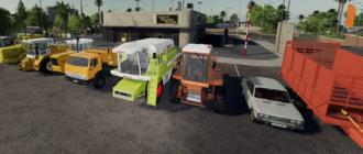Скачать мод пак на Kharon Retro TSZ Pack для Farming Simulator 2019