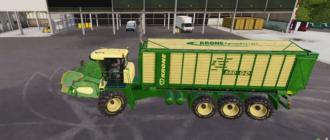 Скачать мод на косилку Krone Pack для игры Фермер Симулятор 2019